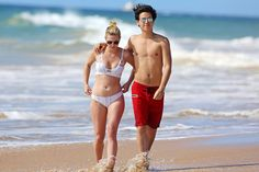 Cole Sprouse and Lili Reinhart Get Cozy on the Beach in Hawaii: Pics