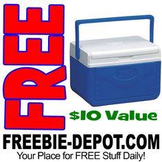 ►► HOT! FREE Coleman 5-Quart Cooler with Shield - $10+ Value - Exp 5/21/17 ►► #Camping, #Coleman, #Free, #FreeAfterRebate, #FREEStuff, #FREEbate, #Freebie, #Frugal, #FrugalFind, #Picnic, #Summer, #Walmart ►► Freebie Depot