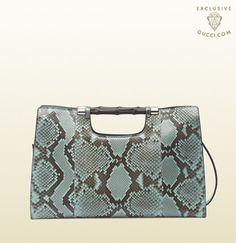 Gucci - online exclusive bamboo daily python tote 370829EKN0E4918