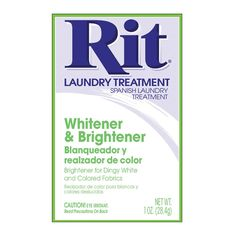 Rit Color Remover Remove Reduce Color From Fabric Prior