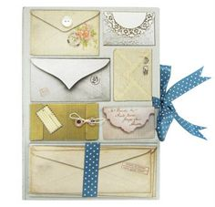 Vintage Style Letters Guest Book