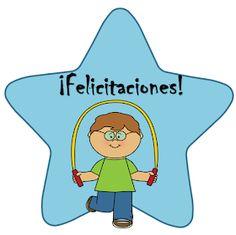 Fichas de Primaria: Estímulos con estrellas Preschool Crafts, First Grade, Teaching Resources, Emoji, Kindergarten, Homeschool, Teacher, Classroom, Clip Art