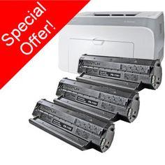 Pantum P2000 Laser Printer Plus 3 x PA-110H High Capacity Toner Cartridges - Only £179.99 inc vat & del