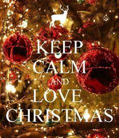 Calm? At Christmas....