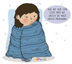 Invierno y mucho frío