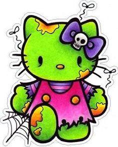hello kitty candy skull - Google Search