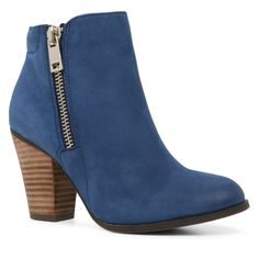 Breckelle Suede Fringe Cowgirl Chunky Heeled Ankle Boots | To die