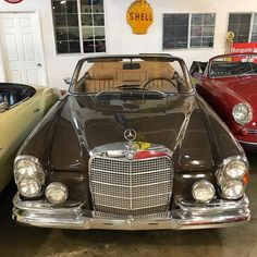 🇩🇪 1969 Mercedes-Benz 280SE Cabriolet $108,500 Brown with Tan Interior Classic Mercedes, Cars And Motorcycles, Mercedes Benz, Brown, Interior, Scouts, Vehicles, Indoor, Brown Colors