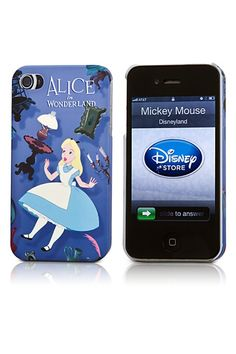 Alice in Wonderland iPhone case. J'adore!