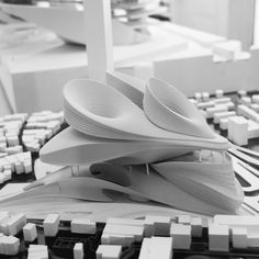 #StudioLYNN #dieAngewandte #model #3dprint #archmodel #architecture #archstudent…