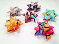 How to make gift bows out of your old magazines | Magazines.com #DIY