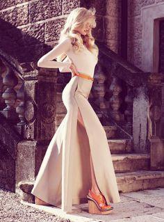 editorial | maxi skirt #slit