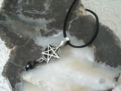 Men's Pentacle Necklace, wiccan jewelry pagan jewelry wicca jewelry mens jewelry pentagram witchcraft metaphysical magic wiccan necklace by Sheekydoodle on Etsy