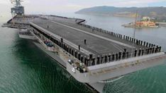 USS Gérald R. Ford CVN-78. Le plus grand porte-avions du monde