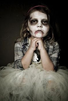 Easy Zombie Makeup for Girls | Girl Zombie Makeup Ideas