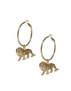 ASOS Lion Hoop Earrings