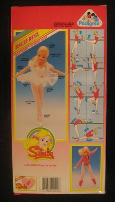 BALLERINA SINDY, Nº42055, PEDIGREE, 1986