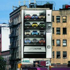 BMW Mini Advertising