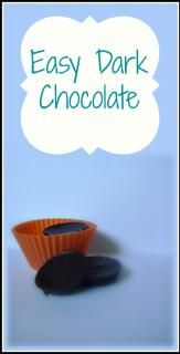 Easy Dark Chocolate (S)