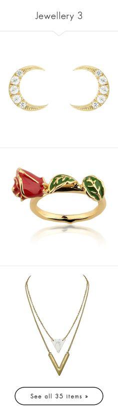 """Jewellery 3"" by fangsandfashion ❤ liked on Polyvore featuring jewelry, earrings, studs, kirna zabete, sale /, ileana makri jewelry, studded jewelry, white earrings, ileana makri and stud earrings"