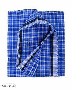 Checkout this latest Dhotis, Mundus & Lungis Product Name: *Akhil Stones Men's Handloom Cotton 2.5 m Lungi (Blue)* Fabric: Cotton Pattern: Checked Multipack: 1 Sizes:  Free Size (Length Size: 2.35 m)  Easy Returns Available In Case Of Any Issue   Catalog Rating: ★4.1 (270)  Catalog Name: Unique Men Dhotis Mundus & Lungis CatalogID_1506066 C66-SC1204 Code: 302-8802607-993