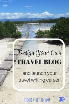 If you want your travel writing noticed and don't have a website, you're falling behind. A website is your online business card and portfolio. A website showcases your work to editors and  publishers as well as marketing and PR reps and makes you accessible to anyone who might want you for a book or article assignment.