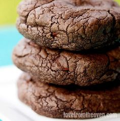 My Favorite Chocolate Cookies While I love a chocolate chip cookie, to me nothing beats a rich, chewy, chocolatey cookie. It's a comfort food type of thing, A great big chocolate cookie with a glass of...