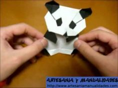 http://creacion-artesanal.com/origami-como-hacer-un-oso-panda-paper-craft/ , Te mostramos como hacer un oso panda paso a paso en origami y en la direccion we...