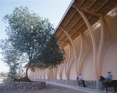 "Jose Cruz Ovalle ""Spirit of Nature Legno Architecture Award"" 2008 Timber Architecture, Architecture Awards, Concept Architecture, Architecture Details, Timber Structure, Pergola, Exterior, Photos, Bamboo"