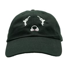 a6e2fcaf195 Dog Filter Dalmatian Dad Hat - Black – Ace Hat Collection Baseball Cap  Outfit
