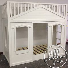 Children S Playhouse Bed Playhouse Bed Play Houses