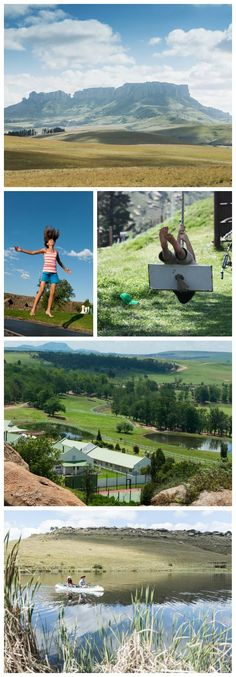 Summer in the Drakensberg boasts plenty of ways to have a good time. School holidays are around the corner, so escape to Oaklands for family fun in the sun. School Holidays, Golf Courses, Rain, Entertaining, Activities, Mountains, Country, Summer, Travel