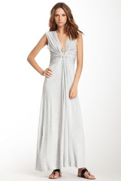 Wrap Knot Maxi Dress