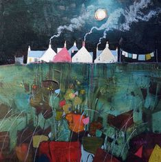 Gordon Wilson is one of Scotland's most exciting contemporary artists. Subject matter ranges from quirky portraiture to emotive land and seascapes, his deep love of the west coast of Scotland shines through in his evocative work