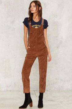 CAMP Collection Picture Day Corduroy Overalls