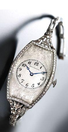 BOUCHERON A FINE ladies platinum luxury watch fashion love http://bestwomentopwatches.weebly.com/