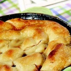 Ingredients Makes: 6 servings Cook: 30 minutes 1 stick butter ½  cup packed brown sugar 1 teaspoon cinnamon, McCormick® 1 can (21-ounce) apple pie filling,
