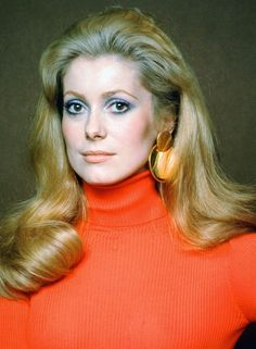 Photograph of Catherine Deneuve in various sizes, also as poster, canvas or art-print Catherine Deneuve, Jacques Demy, Jane Fonda, Marie Christine Barrault, Pregnant Man, Tony Scott, Francois Truffaut, Roman Polanski, Catherine Zeta Jones