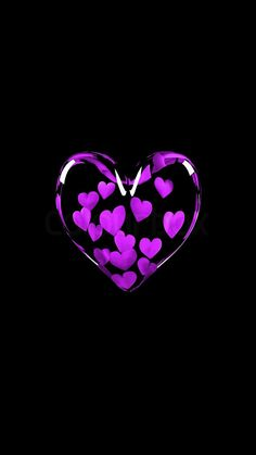 Pink purple Love heart photos for Valentine's day wishes quotes messages greetings cards best wishes for girlfriend or boyfriend