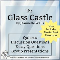 the glass castle lesson family secrets poem questions and  the glass castle resources