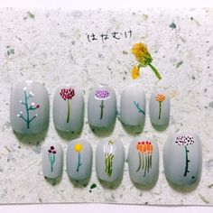 令人暖心微笑的療癒指彩:日本指彩師將日常可愛事物描繪成一幅幅指尖上的清新插畫 - The Femin