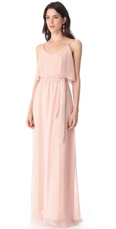 Joanna August 2 Tier Long Dress | SHOPBOP
