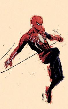 More than one girl cap but I love Tony - Marvel Comics Comics Spiderman, Marvel Comics, Spiderman Drawing, Marvel Art, Marvel Heroes, Marvel Avengers, Ms Marvel, Captain Marvel, Comic Books Art