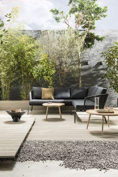 Hotel Chique tuin met luxe lounge hoek | luxurious lounge corner | KARWEI 3-2018