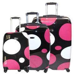 U.S. Traveler New Yorker 4pc Expandable Luggage Set | Blue, Ps and ...