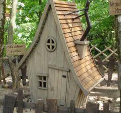 Cabane d'Alice - Maquette et réalisation finale