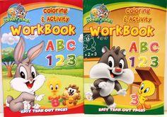Baby Looney Tunes Coloring & Activity Book