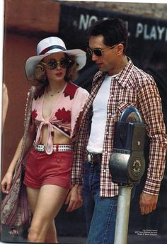 """Jodie Foster and Robert DeNiro, """"Taxi Driver"""""""