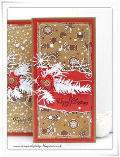 Scrap Art by Lady E: Gingerbread cards :) / Piernikowe kartki :)