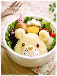 Care Bears riceball bento    #food